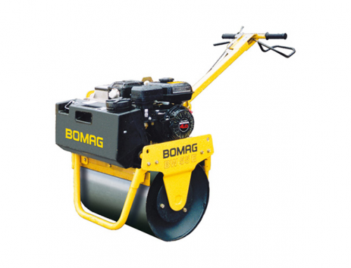 Bomag Bw55e Single Drum Roller – Petrol