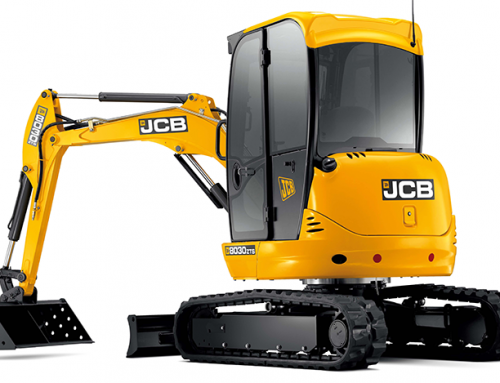 JCB 3t Mini's Zero Tail Swing and Standard