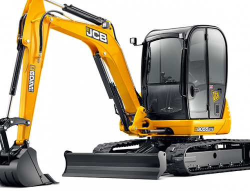 JCB 5t Mini, Zero Tail Swing