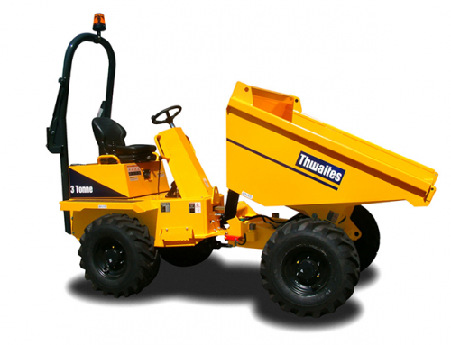Thwaites Swivel and Straight Skip – 3Tonne